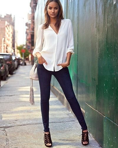 Slim fit jeans Clothes Men Wish Women Would Wear • BoredBug