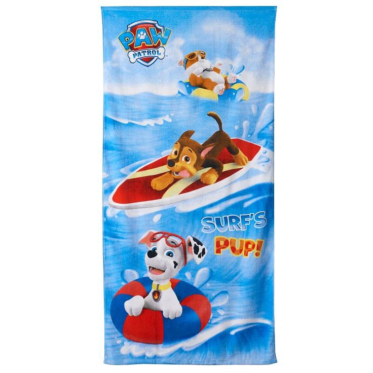 Personalized Paw Patrol Beach Towel: 25+ Best Ideas About Nick Jr On Pinterest