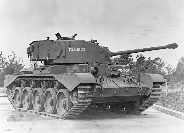A34 Comet. Late WW2 British tank.