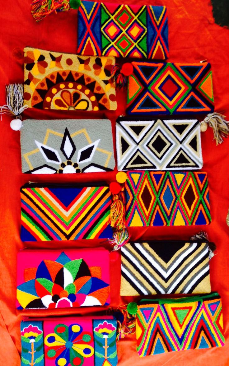 Wayuu Clutches by MISS G