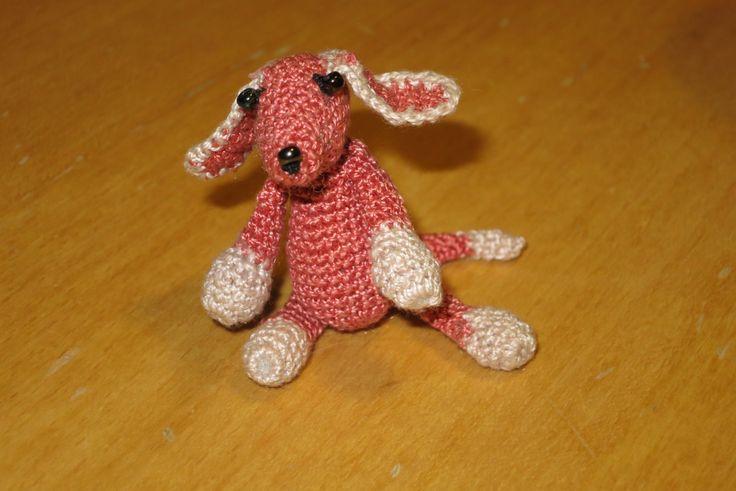 háčkovaný pejsek/ crotcheted dog