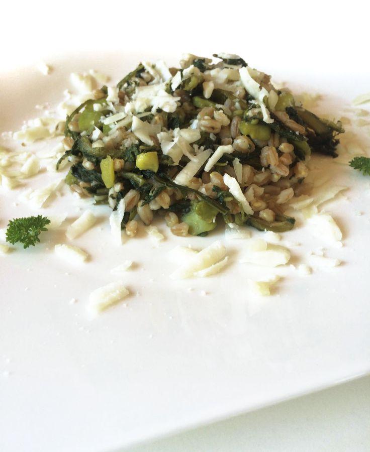 Orzo con Asparagi e Zucchine
