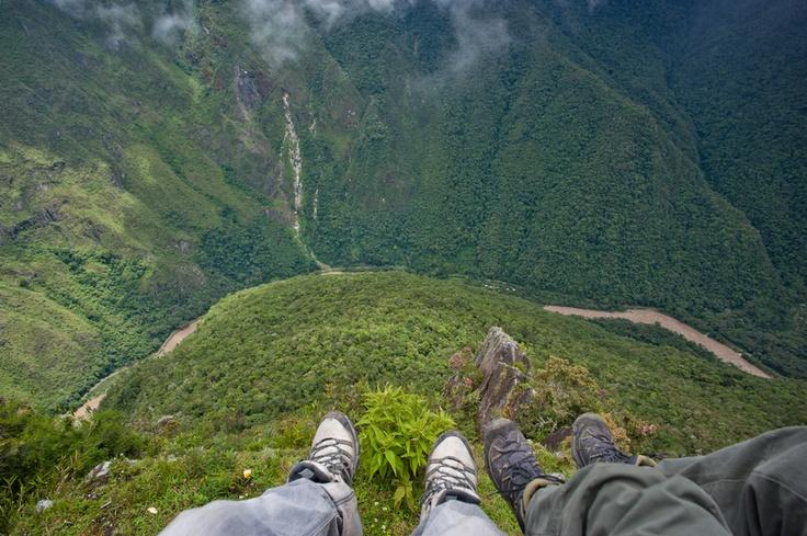 Wayna Picchu, the mountain over Machu Picchu. Cusco, Peru.