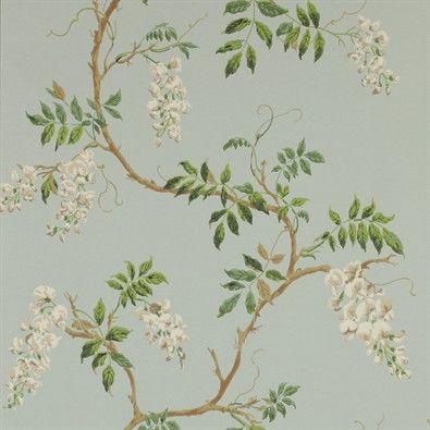 Alderney - wallpaper Aqua 07963/04 Colefax and Fowler