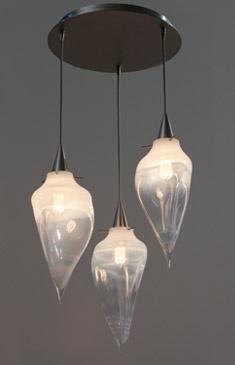Jamie Harris Studio : Custom Lighting : Rock Pendants