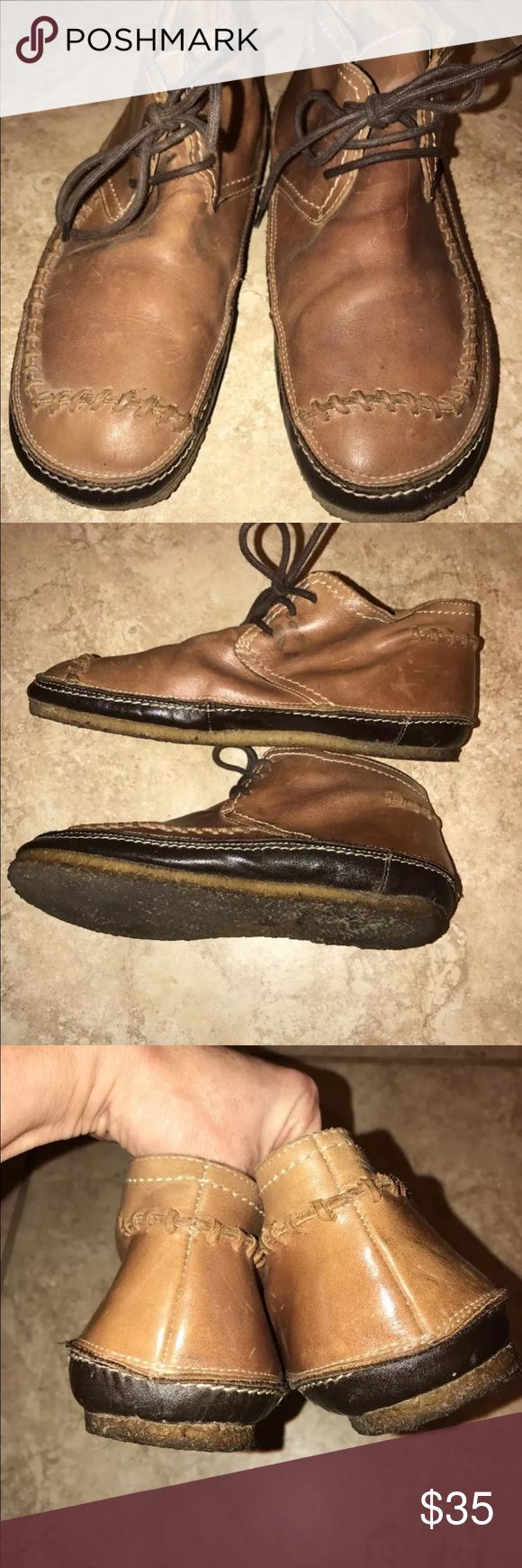 Ask The Missus leather Chukkas 40 9 boots UK 🇬🇧 Ask the Missus chukka boots from London. EU40 US9 Lace Up . Hand stitched. Used but in great condition. Popular British co. ask the missus Shoes Chukka Boots