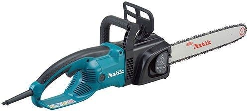 Makita Commercial Grade Chainsaw.  The Makita UC4030A electric saw is among the best brands in the market today. An electric saw is used by homeowners and landscapers to especially cut down unwanted trees. It is also used by lumbermen to cut down trees they need for their job.