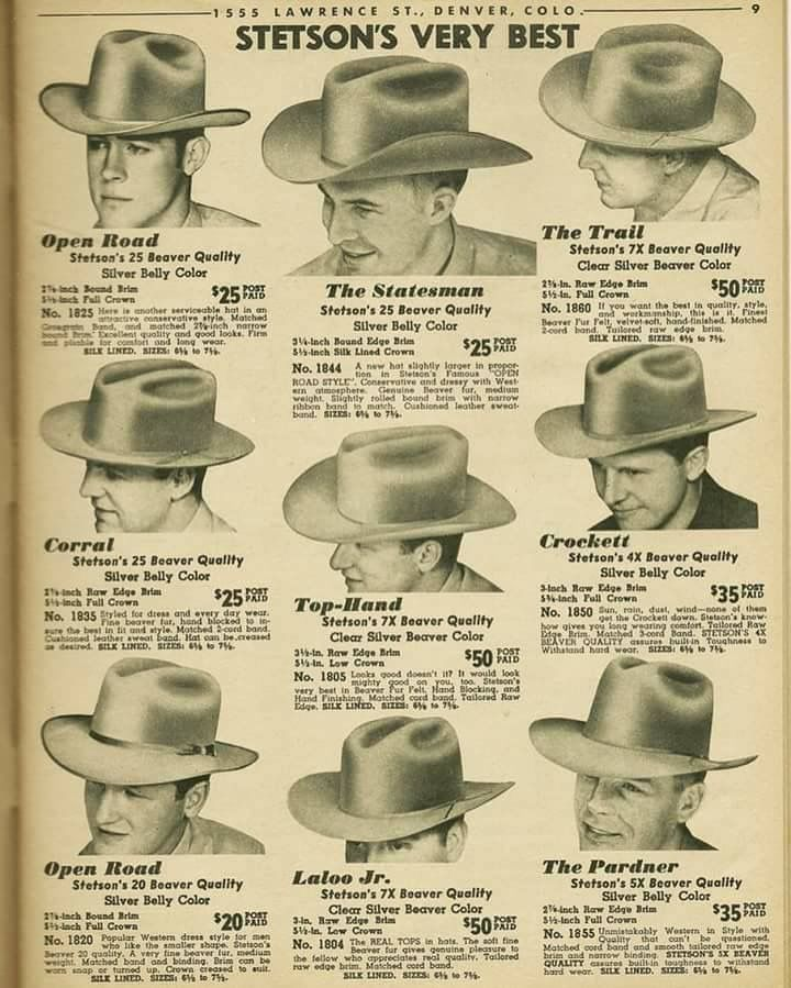 Pin by Kay David on Cowboy Hats  358cdd1ad42