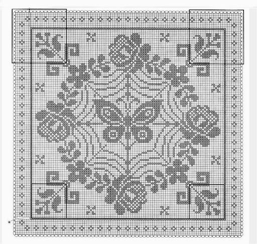 #cross stitch#design -- butterfly motif -- Poduszki - Urszula Niziołek - Álbumes web de Picasa