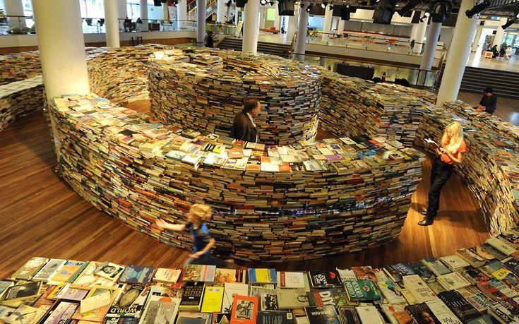 Bookshelf Porn: Libraries, Books Maze, Bookshelves, Ballrooms, Branding Books, London England, Photo, New Books, Labyrinths