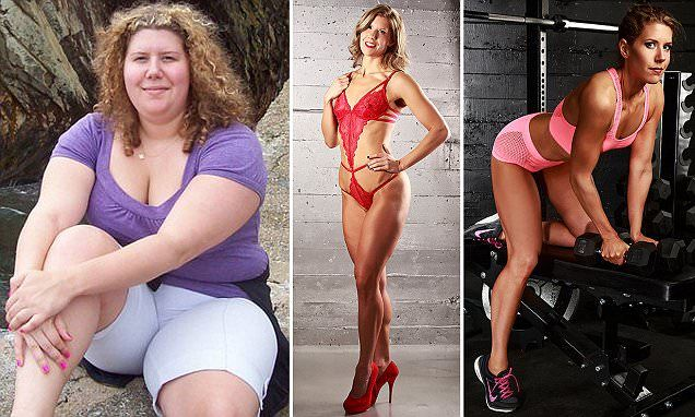 230lb woman Donna Gillie reveals how she lost half her weight WITHOUT surgery | Daily Mail Online