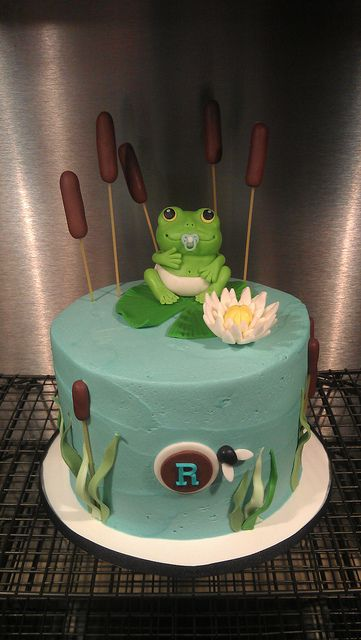 Frog Cake I want one for my birthday!