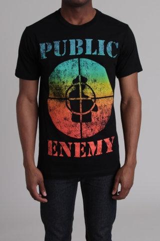 """Public Enemy"" graphic tee"