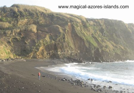 Looking for Azores Beaches? Sao Miguel island has quite a few beaches that are great spots to   swim in the summer and surf just about all year round. See some pictures here