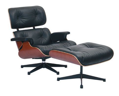 The (original) Eames Lounge Chair and ottoman my parents bought in the 60's; bestowed upon me when I started to collect mid century pieces. It is in mint condition. Coolest piece they ever purchased. In my opinion, Eames embraced modular design. Modular allowed us to design furniture that fit our individual needs. Charles and Ray Eames experimentation changed everything,