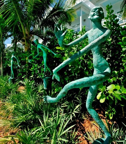 Key West Themed Backyard : Yard Art  Key West Style  Jan  Pinterest