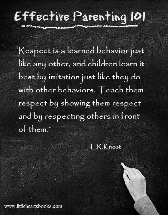 Teaching Respect Quotes. QuotesGram