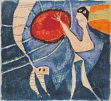 Lucebert (1924-1994) In 1949 trad Lucebert op als voorman van de Beweging van Vijftig of de Vijftigers, de groep experimentele dichters die destijds veel stof deed opwaaien. In 1949, ten tijde van de Politionele Acties, debuteerde hij met het gedicht Minnebrief aan onze gemartelde bruid Indonesia. De bundel Triangel in de jungle / de dieren der democratie, verscheen in 1951. Al snel werd hij gezien als de Keizer der Vijftigers.