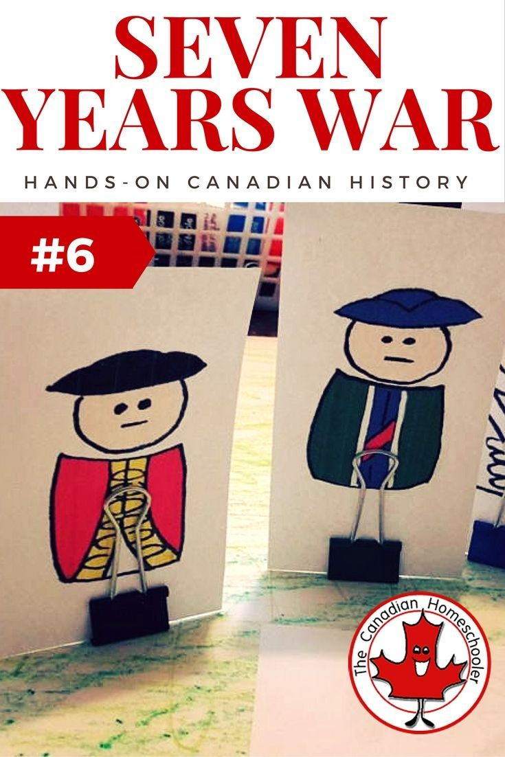 Hands-On Canadian History: Seven Years War - Plains of Abraham: The Seven Years War, also known as the French and Indian war, was a battle between Britain and France that caused fighting here in Canada as Britain and France fought for the land. The battle on the Plains of Abraham outside Quebec was a pivotal one for our Canadian history as we moved from a French country to an English one. Here are some printable soldiers to re-enact the battle.