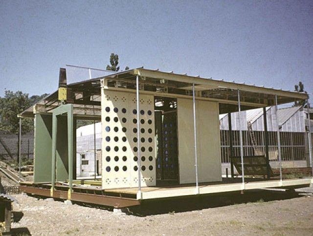 les 59 meilleures images propos de archi nomade sur pinterest bureau de hangar maison et. Black Bedroom Furniture Sets. Home Design Ideas