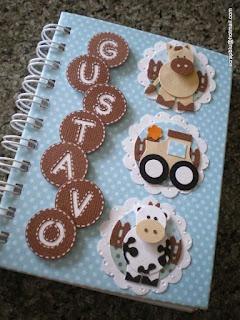 scrapblu - arte com amor Altered notebook.  Notebook. Cuaderno decorado. Libro alterado. Book.