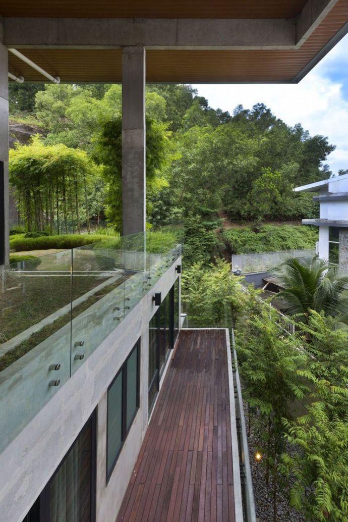 Interesting House Exterior Design In Kulai Malaysia: Architect, Architecture, Beautiful Interior Design