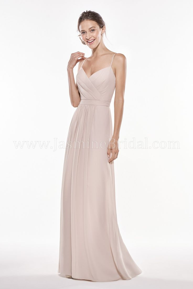 Jasmine Bridal | Jasmine Bridesmaids Style P196006 in Almond