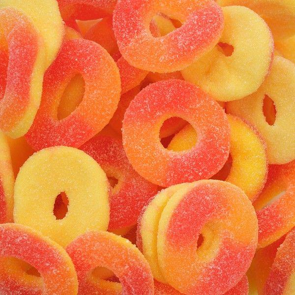 Peach rings... My favorite!!!