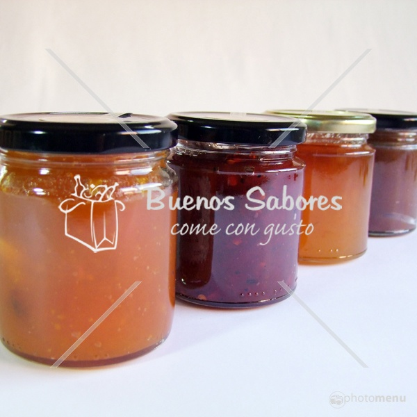Mermelada de Pimientos Asados, Mermelada de Castañas,Mermelada de Calabaza y Frutos Secos, Mermelada de Naranja Amarga...