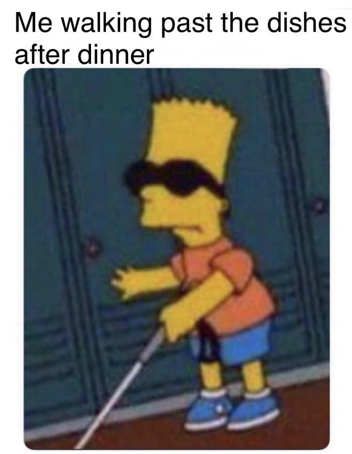 I Have The Big Blind Simpsons Meme Cartoon Memes Funny Memes
