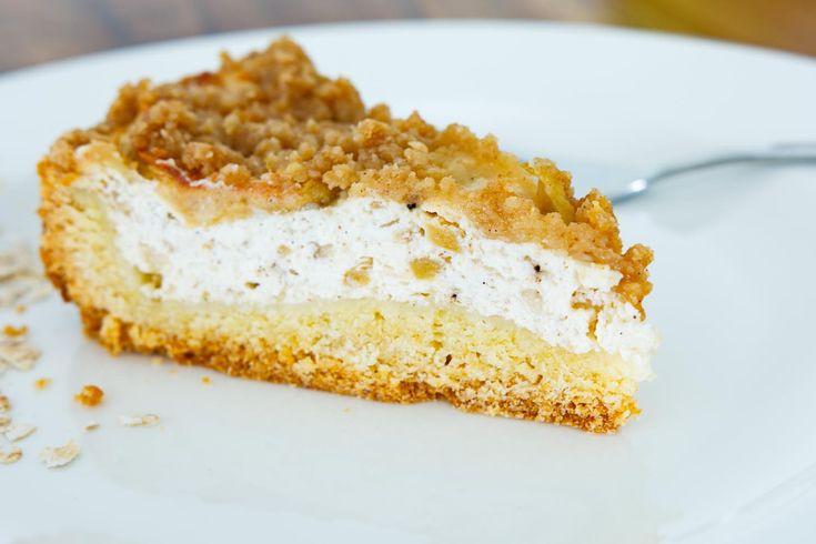 Apfel-Haferflocken-Cheesecake