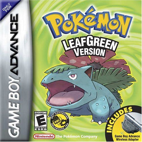 Pokemon Leaf Green GBA ROM - http://www.ziperto.com/pokemon-leaf-green-gba-rom/