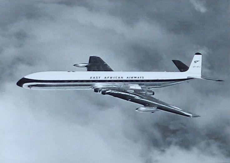 East African Airways Comet 4 Jet