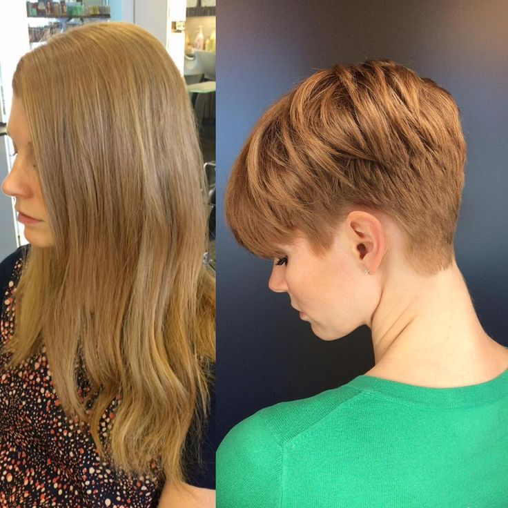 1628 best images about short  hair makeovers  on Pinterest