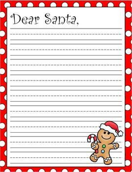 letters to santa paper to print writing papers dear santa and writing on 15367