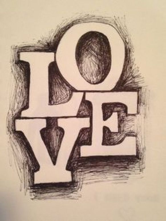3 Easy Ways To Draw 3d Block Letters With Pictures Drawing Love Drawing Art Drawings Simple Cool Art Drawings Art Drawings