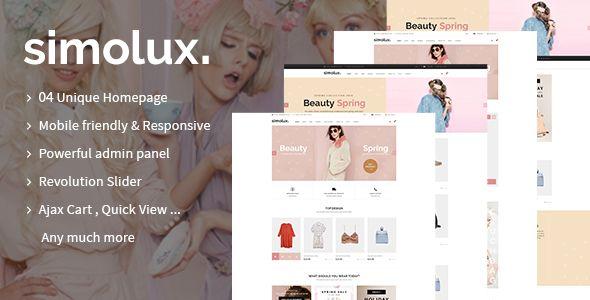 Simolux - Responsive Shopify Theme - Fashion Shopify