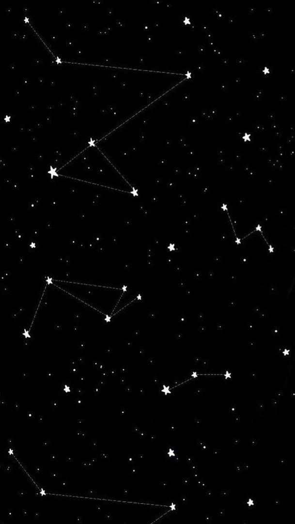 Black stars hd wallpaper