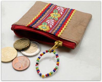 Pientä ja tarpeellista - SnapPap purse