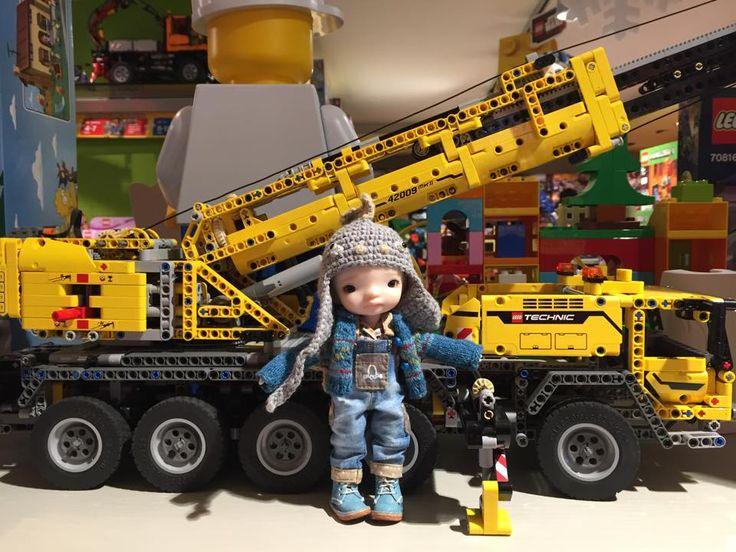 In Lego shop, in Livigno