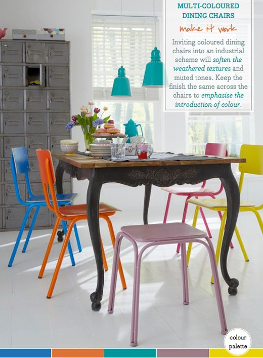 best 25+ coloured dining chairs ideas only on pinterest