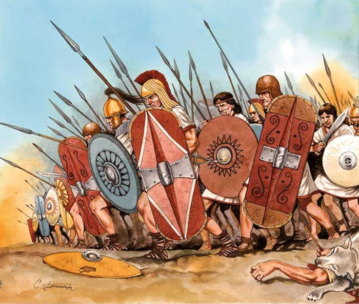 Celtiberians in the battle of the Great Plains (also known as Battle of Campi Magni, Battle of Bagrades)