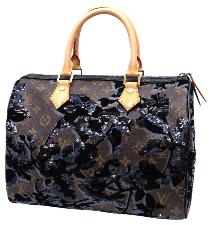 Louis Vuitton Limited Edition Monogram Fleur De Jais Speedy 30 Brown Satchel. Save 10% on the Louis Vuitton Limited Edition Monogram Fleur De Jais Speedy 30 Brown Satchel! This satchel is a top 10 member favorite on Tradesy. See how much you can save
