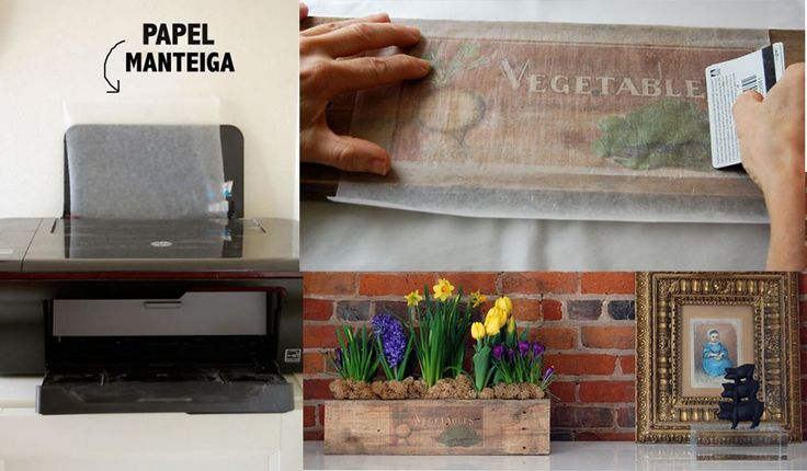 Não precisa de gel especial, nem etiquetas para impressora.