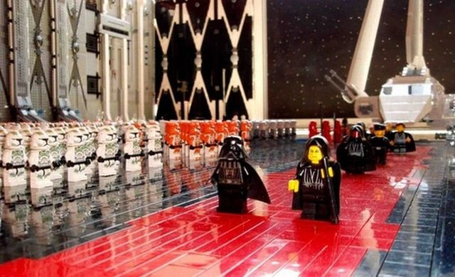 Arrival of the Emperor in LEGO: Wars Stuff, Geek, Starwars Lego, Lego Star Wars, Lego Starwars, Stars, Teacher, Obsession Lego And Starwars