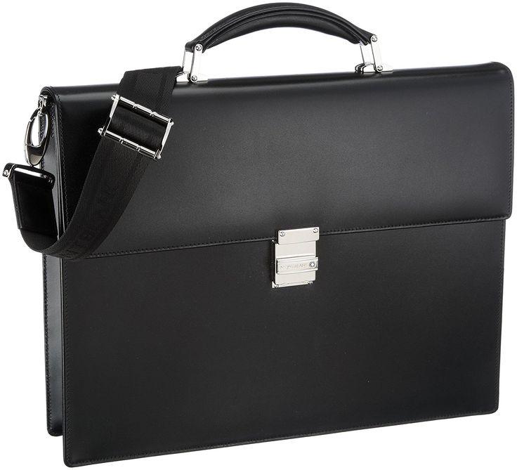 Montblanc Meisterstuck Single Gusset Full-grain Cowhide Briefcase 104606
