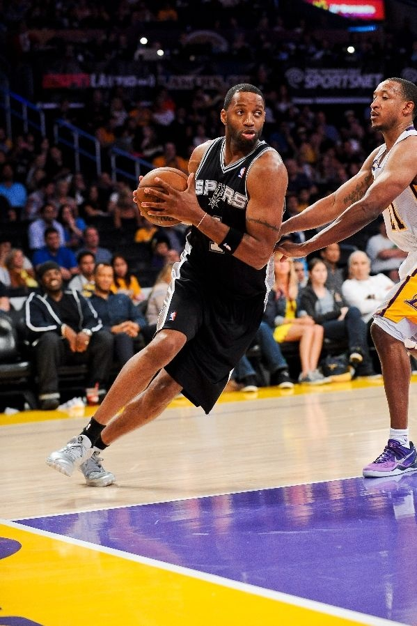 Tracy McGrady and the Spurs ready to take down the Warriors