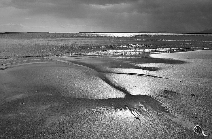 #winter #sea in #black_and_white #blackandwhite #waterscape #seascape #cagliari #sardinia #andreaturno #photography #nikonphoto_ #nikontop @andreaturno