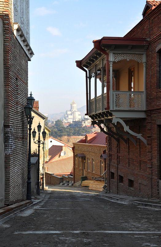 Грузия. Тбилиси 1 января. - dylepovo