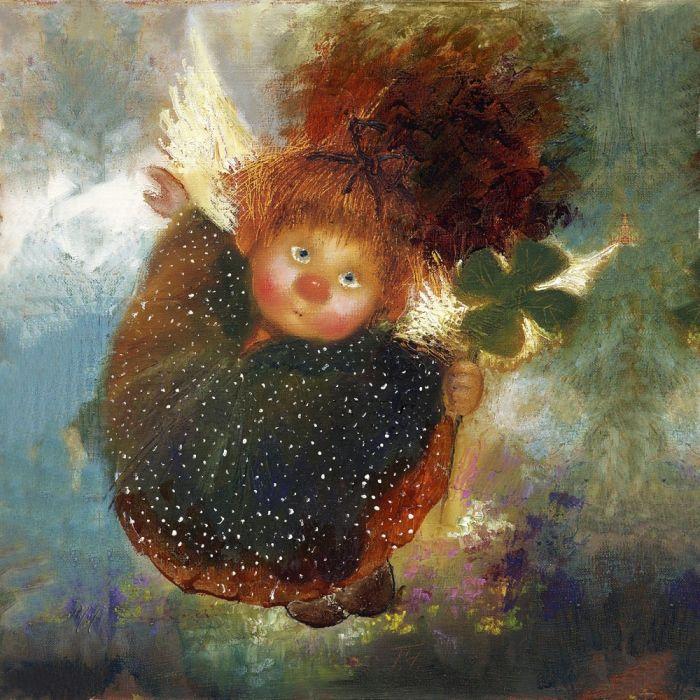 Добрый ангел, исполняющий желания. Автор: Галина Чувиляева.